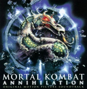 Mortal Kombat: Annihilation – Original Motion Picture Soundtrack cover